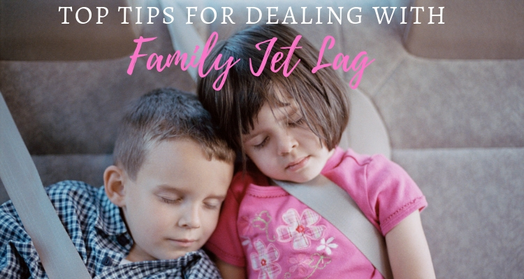 How do you help kids deal with jet lag?