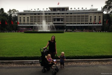 Ho Chi Minh City with kids