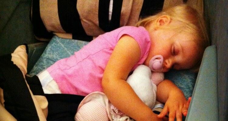 Family Travel Advice | Sleeping on Planes