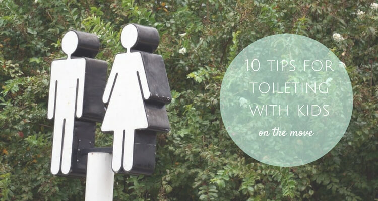 Feeling Flushed? 10 tips for families who need to toilet on the go   Travel Tips   OurGlobetrotters.Com