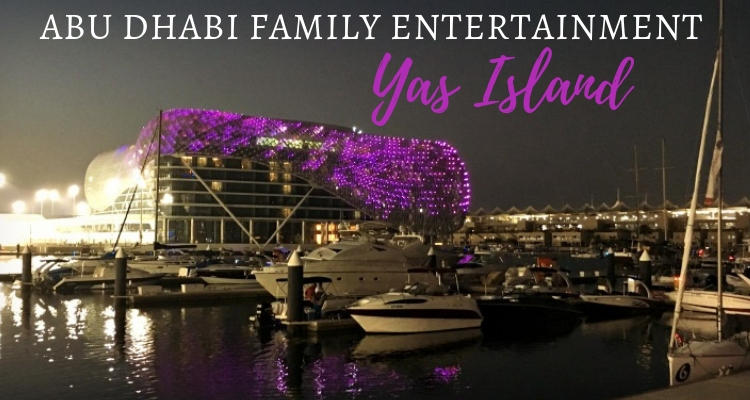 Yas Island as a family destination