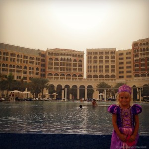 Brunch at the Ritz Abu Dhabi fit for a princess