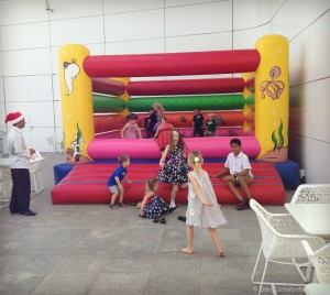 Festive Bouncy Castle at Yas Viceroy hotel