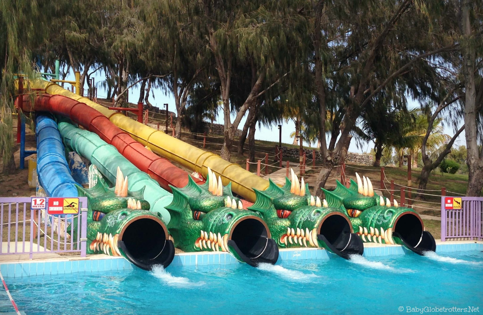 Slides at Dreamlans UAQ