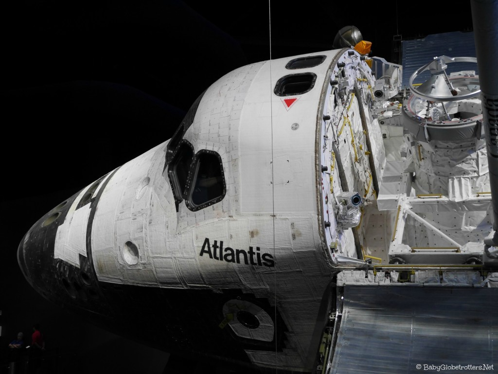 Kennedy Space Sentre Florida Highlight Atlantis
