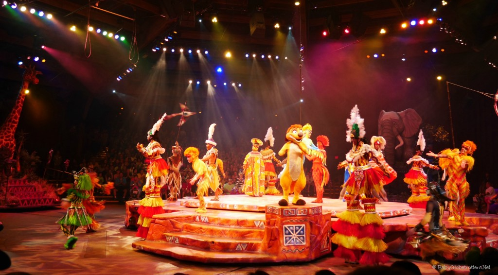 lion king show at Animal Kingdom