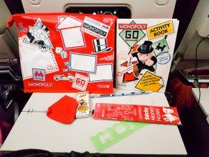 Qatar Airways Kids Monopoly pack