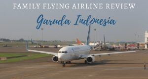 Family Flying Airline Review Garuda