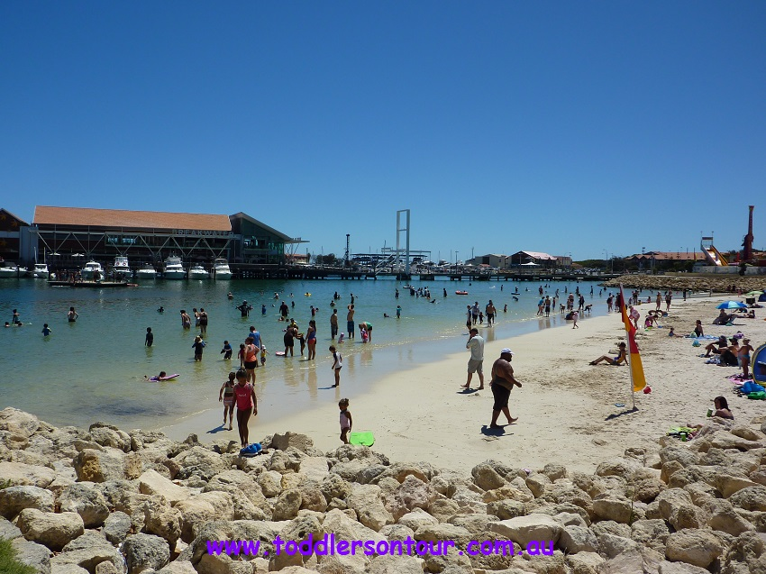 Hillarys Marina beach | Perth with kids | Explore My City | OurGlobetrotters.Net