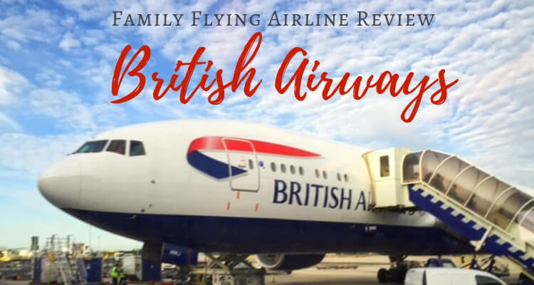 Flying British Airways with kids