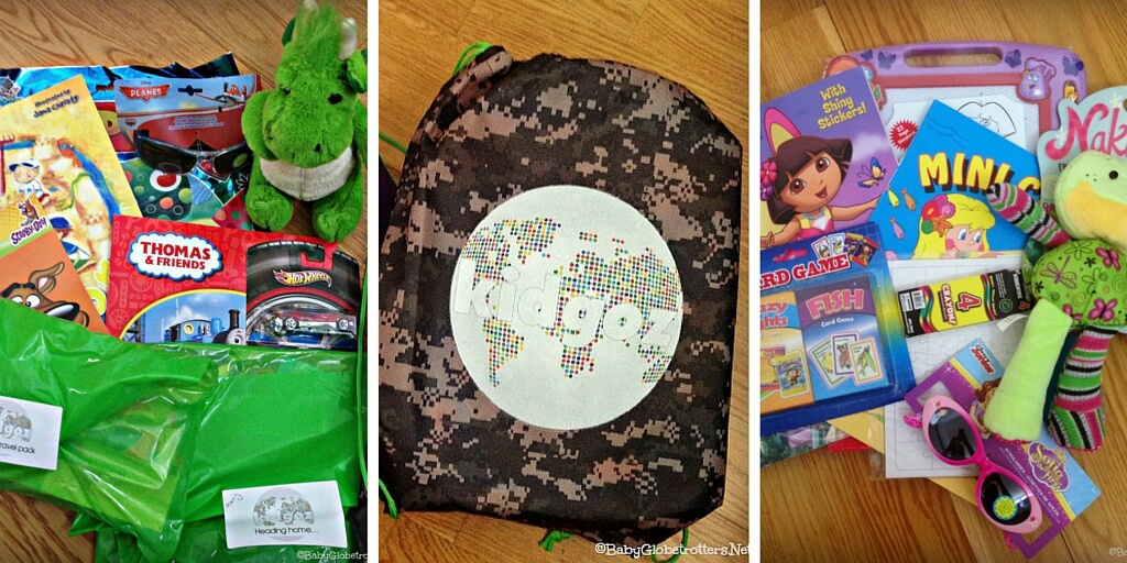 Kidgoz Travel Packs - Enter to Win!! | Baby Globetrotters Recommend | OurGlobetrotters.Com