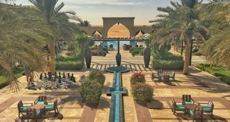 Tilal Liwa Hotel a comofrtable family option when visiitng the Al Dharfa Festival