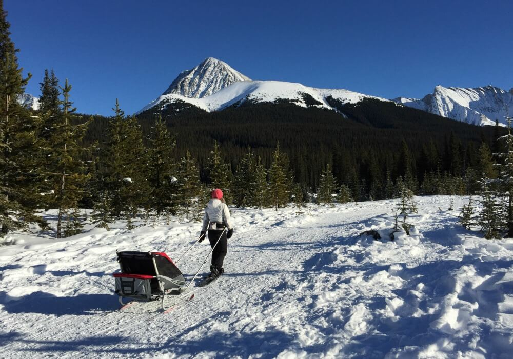 Snowshoeing in Canmore, Canada | Best cold weather destiantions for Family Travel | BabyGlobetreotters.Net