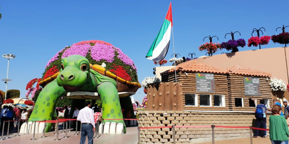 Discover Dubai Miracle Garden With Kids Our Globetrotters
