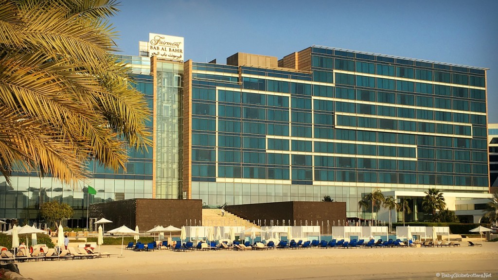 The Fairmont Bab al Bahr, Abu Dhabi | Discover the UAE Hotel Review | OurGlobetrotters.Com