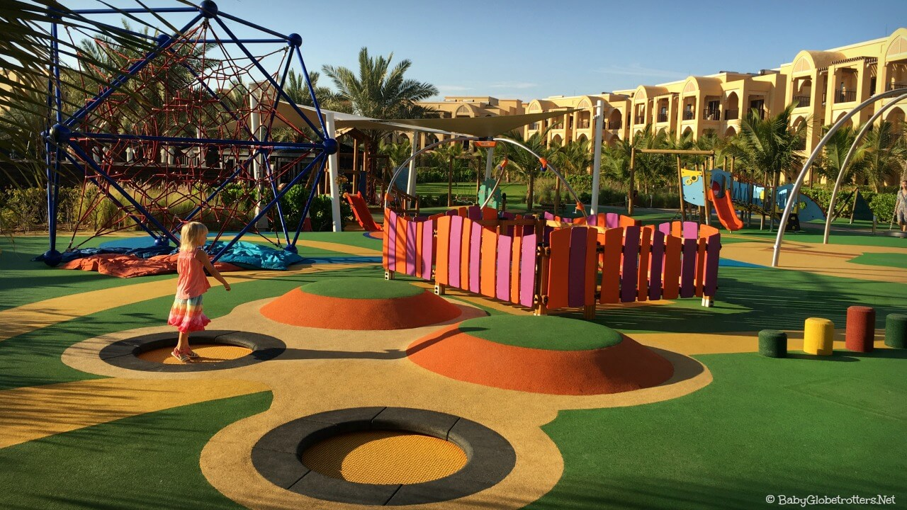 Doubletree Marjan Island Playground | OurGlobetrotters.Com