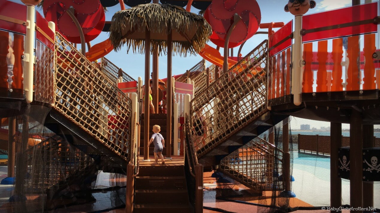 Doubletree Marjan Island Pirate Ship Aqua Zone | Hotel Review | OurGlobetrotters.Com