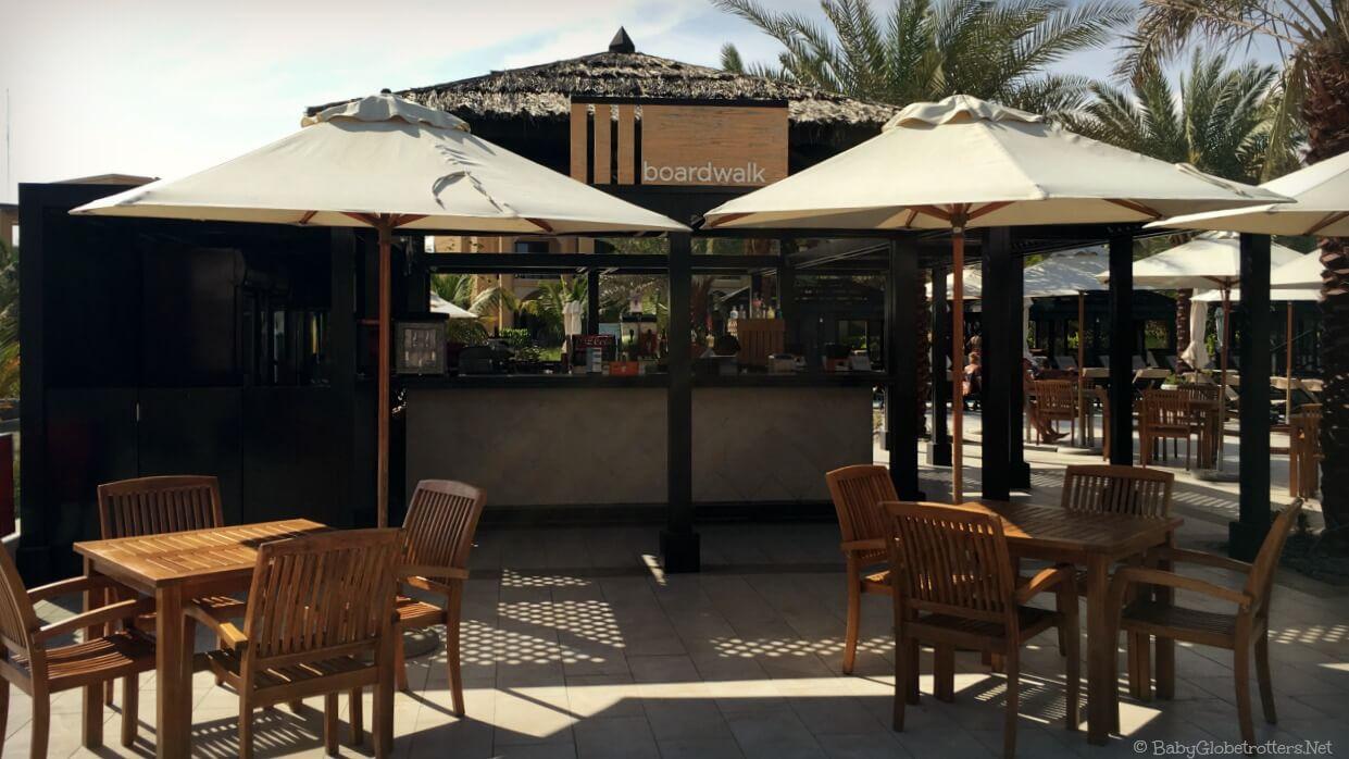 Double Tree Marjan Island poolside bar