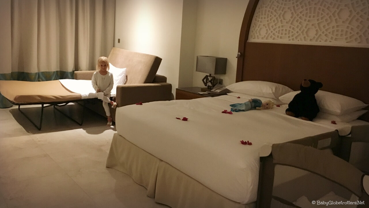 Double Tree Marjan Island Villa Rooms | OurGlobetrotters.Com