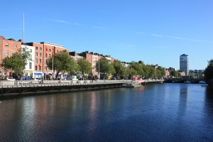 Dublin and the river liffey | Expat Parenting in Dublin | OurGlobetrotters.Com