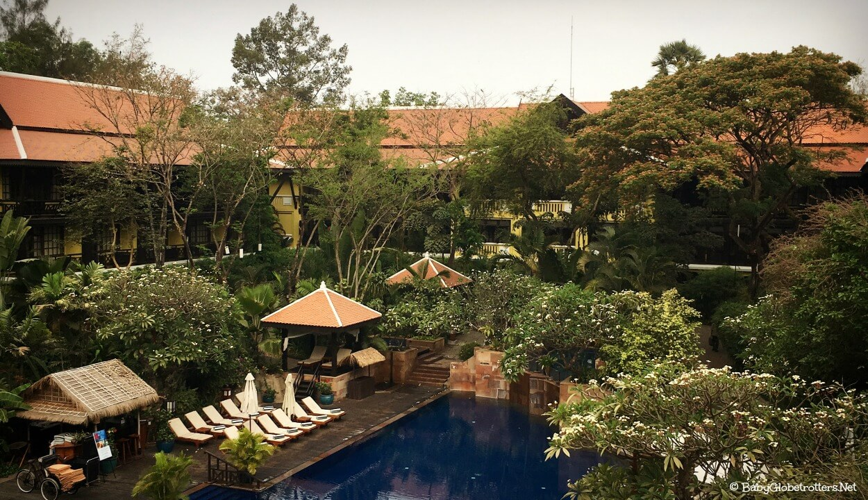 Family Luxury at the Victoria Angkor Siem Reap