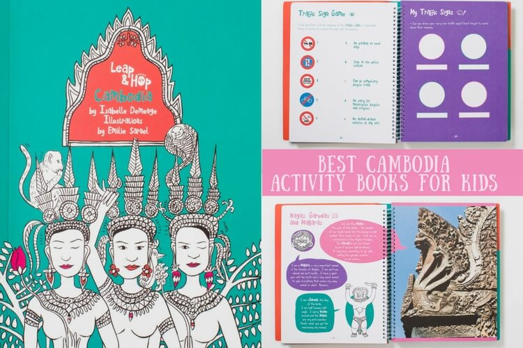 Best Kids Activity Books for Cambodia by Leap and Hop