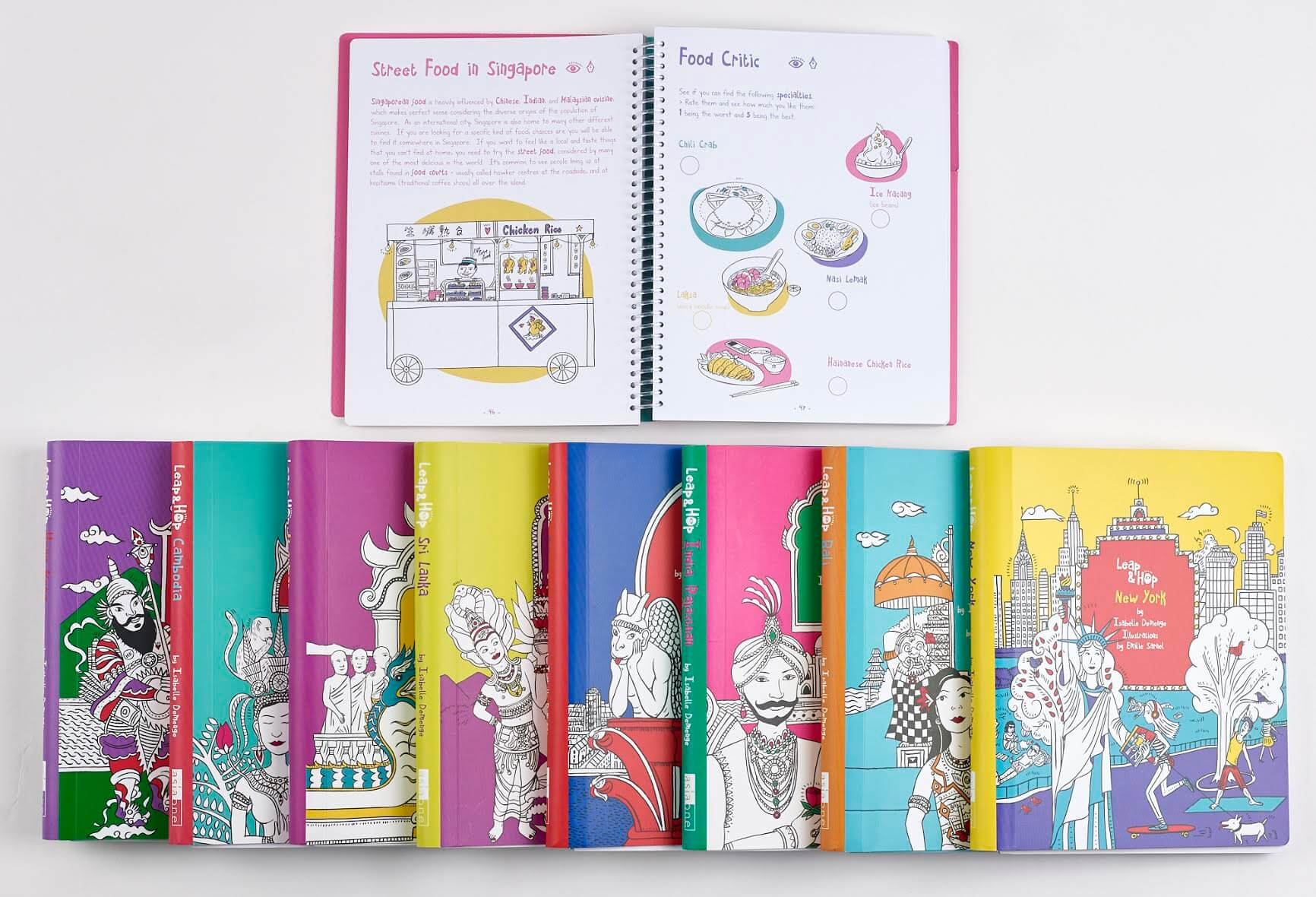 Book Review - Leap & Hop Travel Activity Books for Kids | OurGlobetrotters.Com