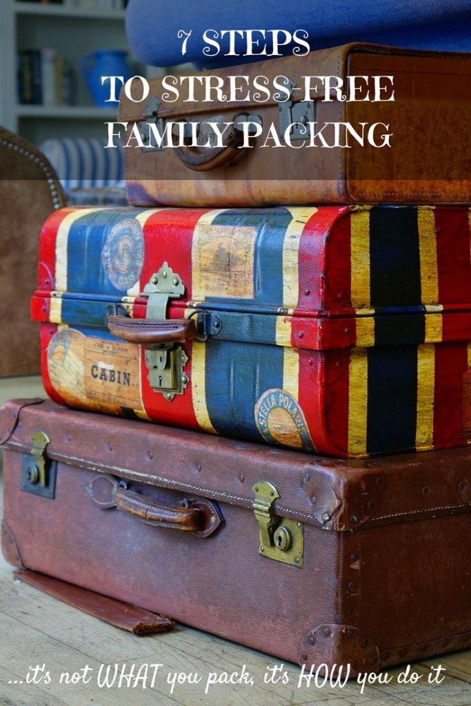 How to take the stress out of packing with 7 steps to packing success!
