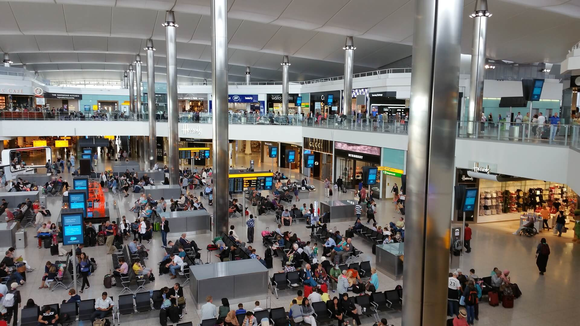 Travelling through London Heathrow | Flying with Kids | OurGlobetrotters.Com