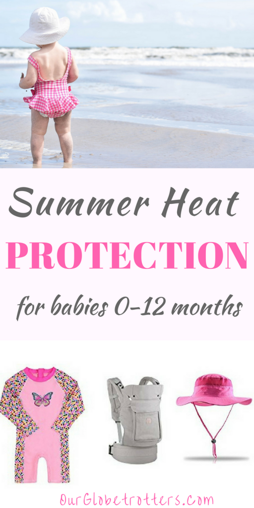 Summer Sun Protection for infants | Advice on how to handle hot and sunny climates with small children from OurGlobetrotters.com