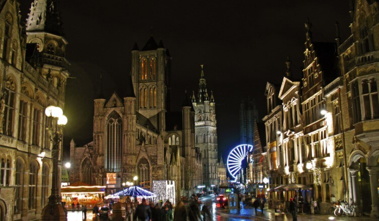 Ghent Skyline | Ghent with Kids | OurGlobetrotters.Com