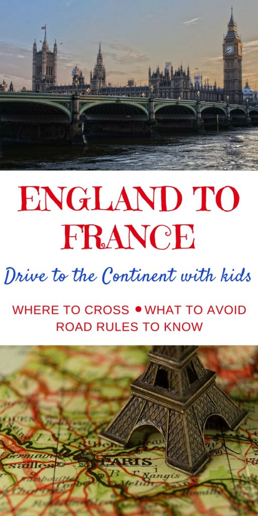 England to France | How to take your car from England to France, learn the road rules and border controls for taking your kids in a car to the continent