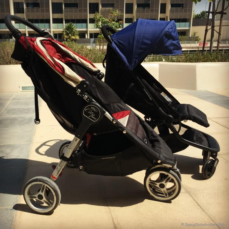 Mountain Buggy Nano vs Mini stroller product comparison