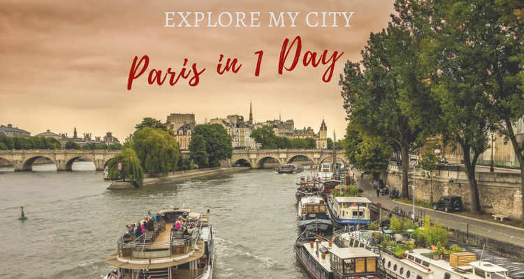 Paris with kids in one day