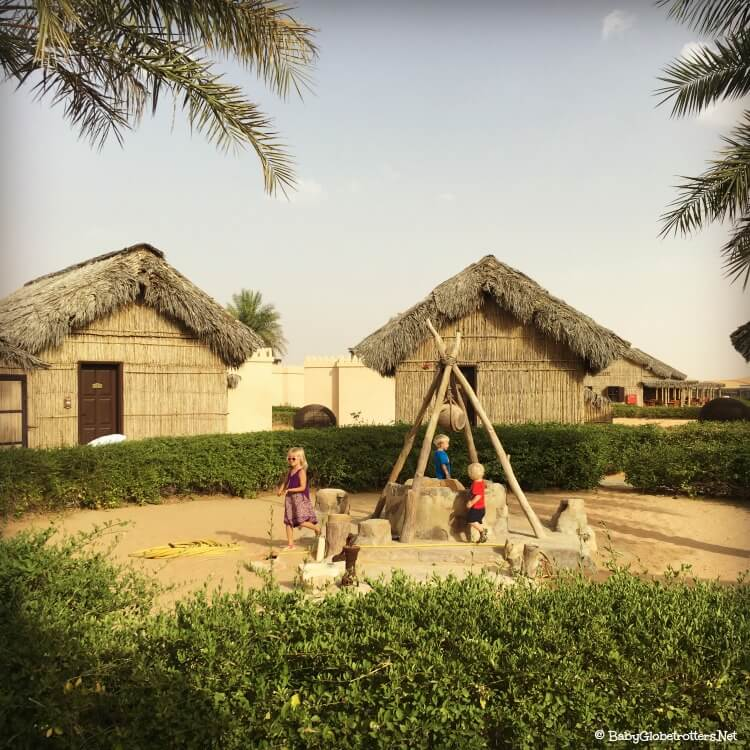 Arabian Nights Village - overnight accomodation