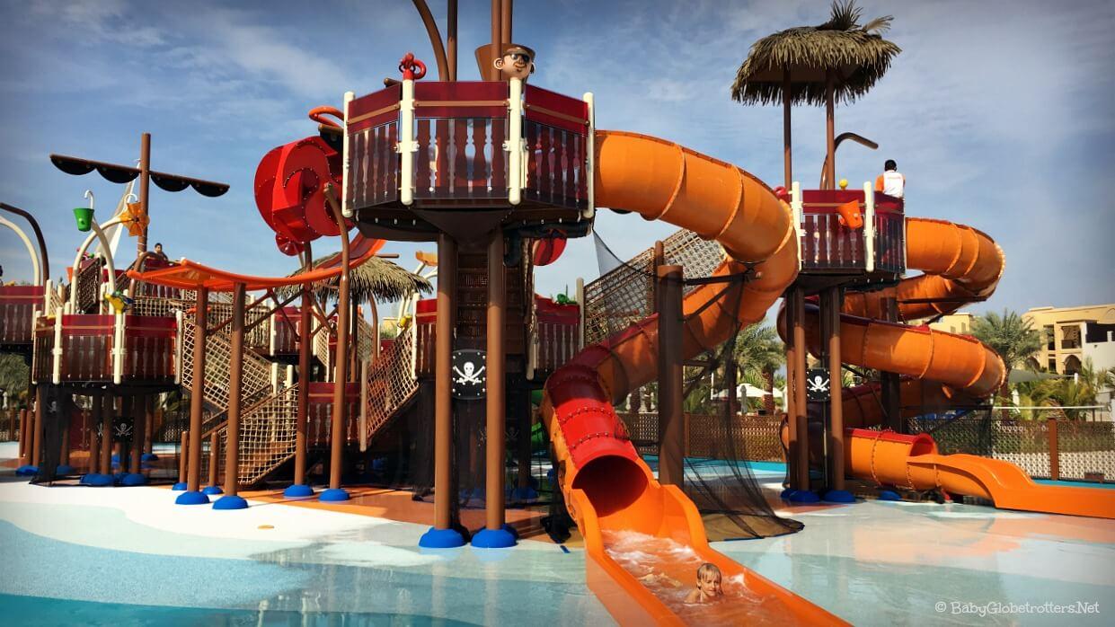 Best Beach Resorts in the UAE   Doubletree by Hilton Marjan Island Ras Al Khaimah   Pirate Boat Slides