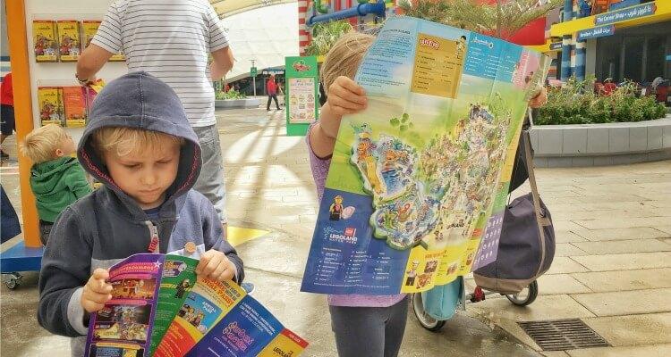 Getting orientated at Legoland Dubai