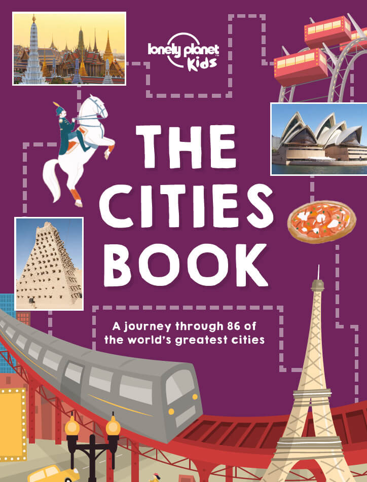 Lonely Planet Cities Book | Educational Travel Resources for Kids