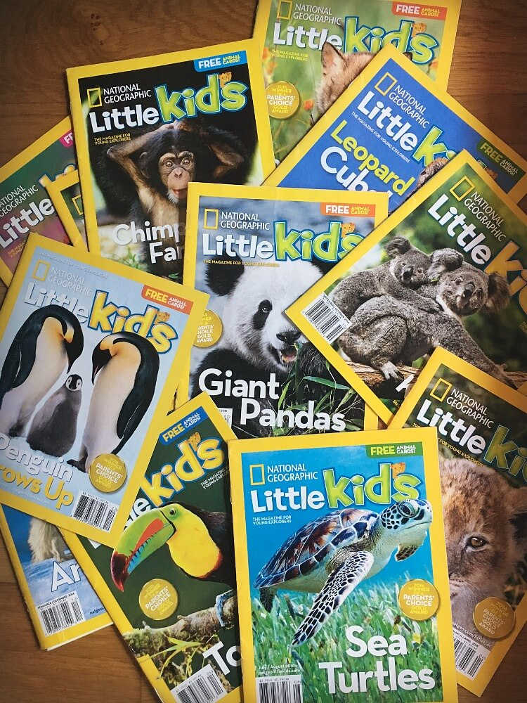 National Geographic Little Kids Magazine | Fun Educational gifts for globetrotting kids