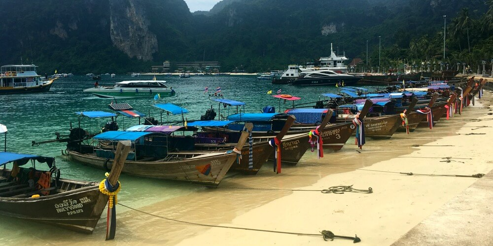 The beautiful Phi Phi Islands