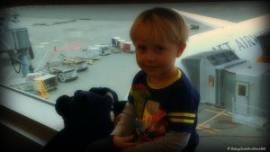 Flying with a toddler - travel advice