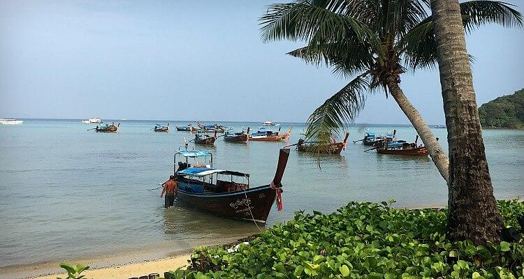 Beautiful scenery in Phi Phi Islands