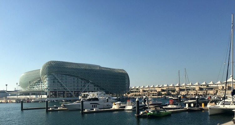 Yas Marina - best places to stay in Abu Dhabi