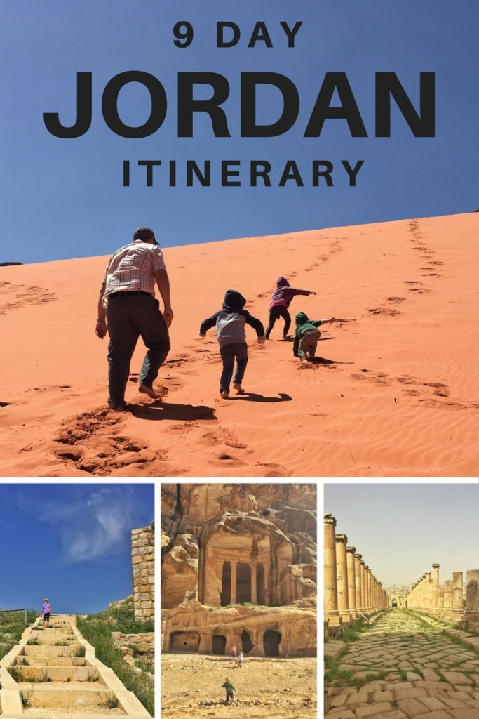 A 9-day Jordan road trip itinerary - perfect for families looking for a highlights tour of Jordan