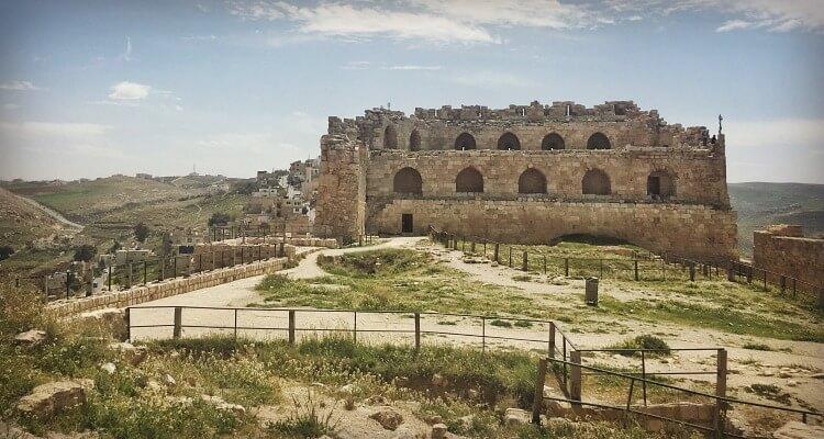 Karak Castle Jordan Road Trip wit Kids