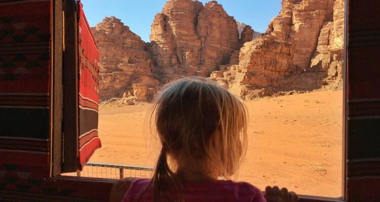 Wadi Rum view in Jordan