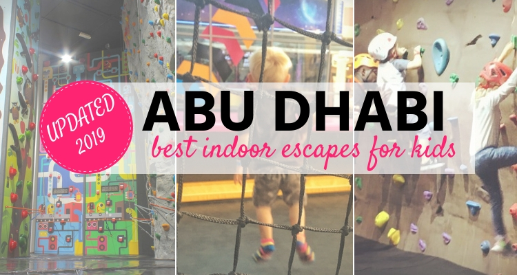 Abu Dhabi's Best Indoor Activities for Kids 2019