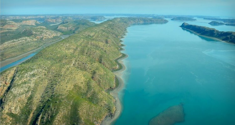Buccaneer Archipelago where you'll find horizontal falls