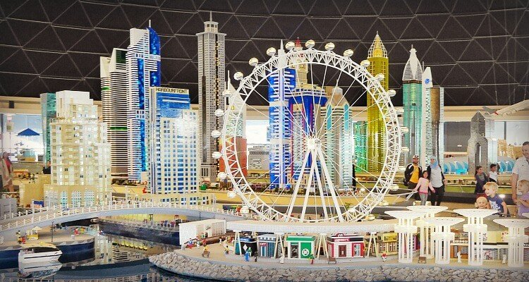 Legoland Dubai - Partley inside but not enough to beat the heat