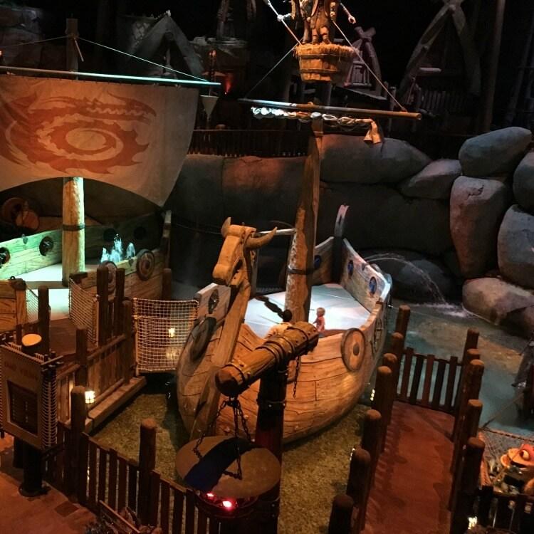 Dragons at Motiongate Theme Park